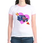 EMS Care Heart Jr. Ringer T-Shirt