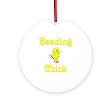 Beading Chick Ornament (Round)