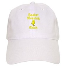 Basket Weaving Chick Baseball Cap