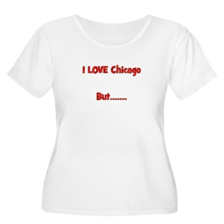 Women's Plus Size Scoop Neck Cubs Hatred T-Shirt