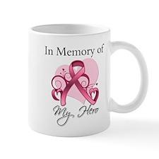 Breast Cancer In Memory Hero Mug