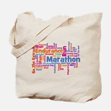 Runner Jargon Tote Bag