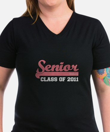 Senior 2011 Graduation Dark Shirt Womens