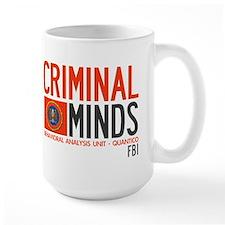 Criminal Minds FBI BAU Mug