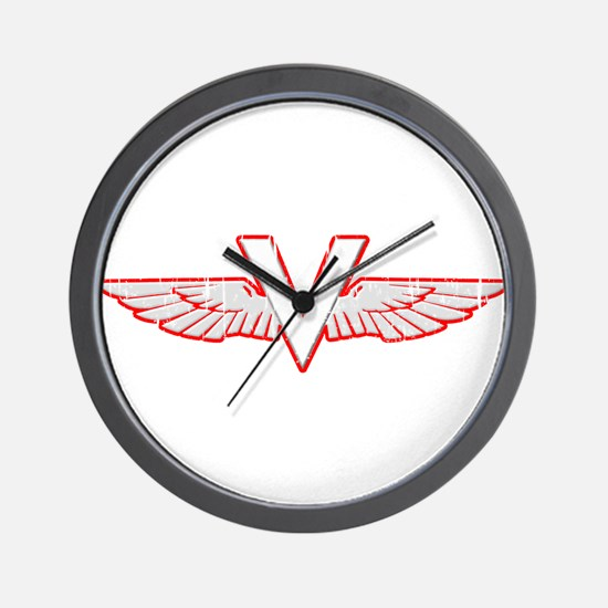 Scooter Vintage Wall Clock