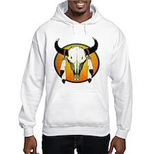 Buffalo skull Hoodie
