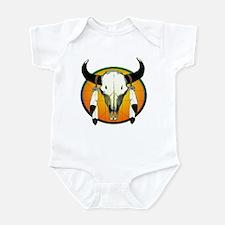 Buffalo skull Infant Bodysuit