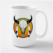Buffalo skull Mug