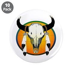 Buffalo skull 3.5