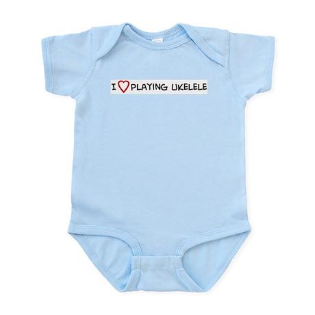Play Ukelele Infant Creeper