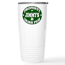 Jimmy's Irish Pub Travel Mug