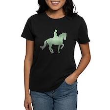 Dressage Horse Print Collection Lady's Dark TShirt
