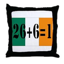 Irish pride Throw Pillow