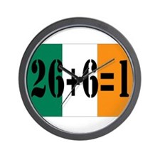 Irish pride Wall Clock