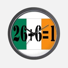 Irish pride Wall Clock