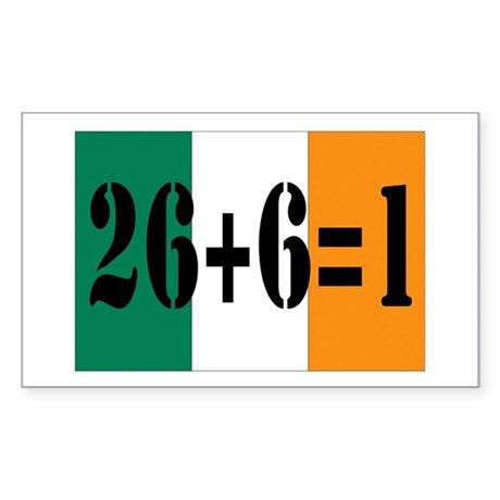 Irish pride Rectangle Sticker