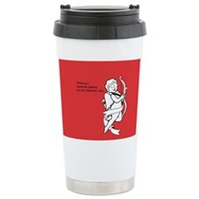 Facebook Stalking Stainless Steel Travel Mug