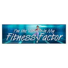 TOP Workout Factor Bumper Sticker