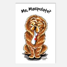 Red Chow Manipulate Postcards (Package of 8)
