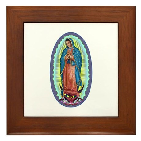 1 Lady of Guadalupe Framed Tile