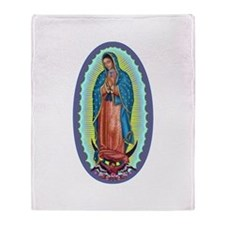 1 Lady of Guadalupe Throw Blanket