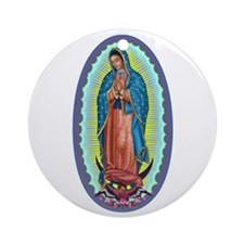 1 Lady of Guadalupe Ornament (Round)
