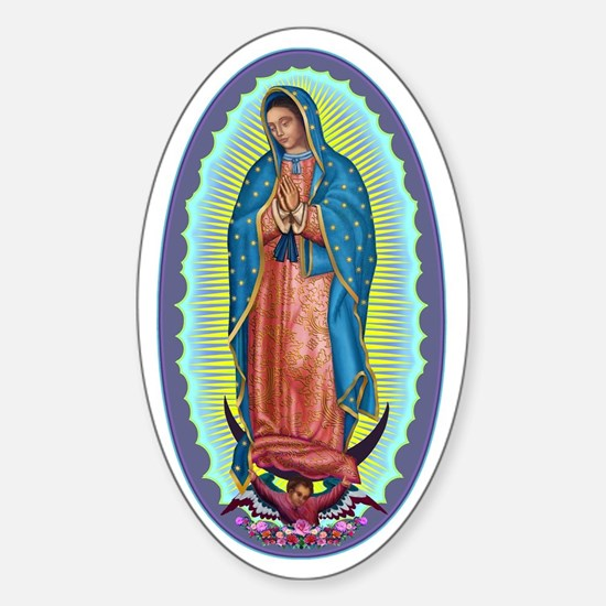 1 Lady of Guadalupe Sticker (Oval)