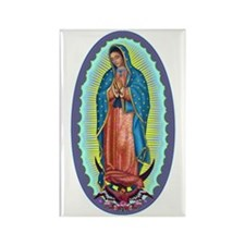 1 Lady of Guadalupe Rectangle Magnet