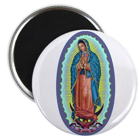 """1 Lady of Guadalupe 2.25"""" Magnet (100 pack)"""