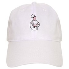 cartoon chef cook Baseball Cap