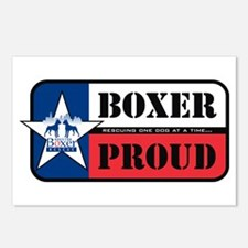 HBR Boxer Proud Postcards (Package of 8)