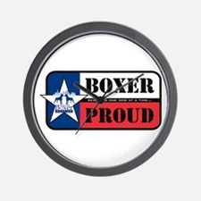 HBR Boxer Proud Wall Clock