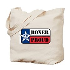 Boxer Proud Tote Bag
