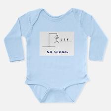 HangmanSoClose Long Sleeve Infant Bodysuit