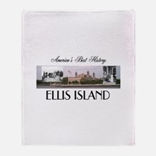 ABH Ellis Island Throw Blanket