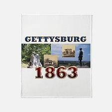 ABH Gettysburg Throw Blanket