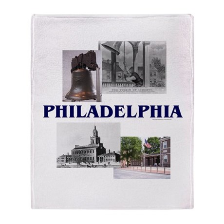 ABH Philadelphia Throw Blanket