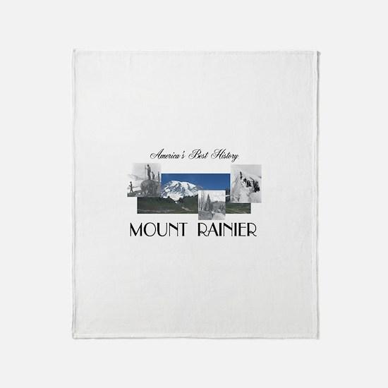 ABH Mount Rainier Throw Blanket