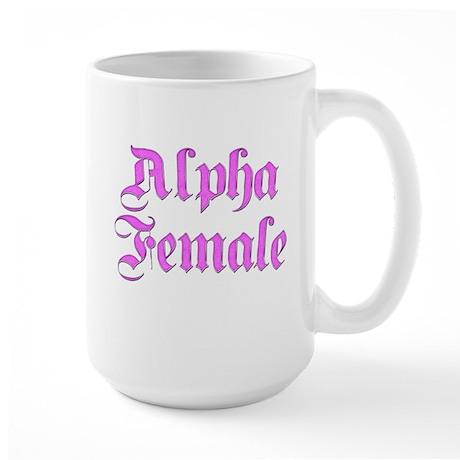 Alpha Female Large Mug