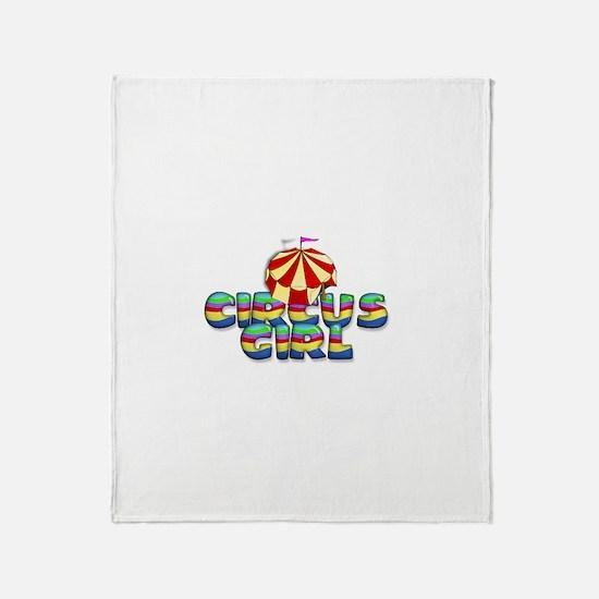 CPM Carnival Girl Throw Blanket