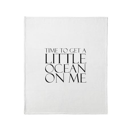 Ocean Time Throw Blanket
