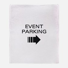 Event Parking Throw Blanket