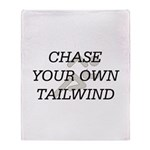 TOP Chase Your Tailwind Throw Blanket
