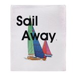 TOP Sail Away Throw Blanket
