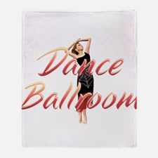 Dance Ballroom Throw Blanket
