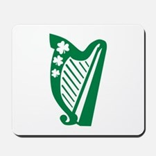 Irish harp Mousepad