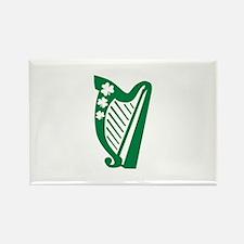 Irish harp Rectangle Magnet