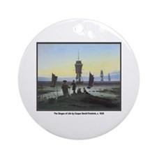 Friedrich Stages of Life Ornament (Round)