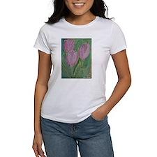 Tulips, Pink,Tulip, Tee