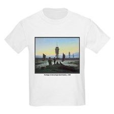 Friedrich Stages of Life Kids T-Shirt